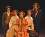 """The Huntington University Theatre Company will present its first performance of the season,""""Angel Street (Gaslight),""""from Thursday, Nov. 14, to Saturday, Nov. 16. Cast members pictured are (from left) Alex Koontz, Eleni Hanson, Justine Hensley, Amanda Fielding and Nicholas Robinson."""