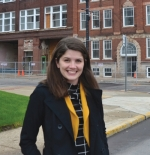 Katy Strass is the new director of the Huntington Arts and Entrepreneurial Center, which will be located in the renovated UB Block building downtown. Strass began her position in March.