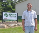 Ben Berger has opened Berger Welding and Supply on CR 200N in Huntington, expanding from the family's original location in Plymouth.