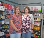 Kari Dill Lahr (left)  and Kathy Dill opened What's the Big Dill Outlet on Sept. 1.