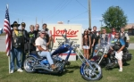 American Legion Riders Chapter 7 and Homier Distributing are teaming up to raise funds to bring the American Veterans Traveling Tribute Wall to Huntington on Sept. 15.