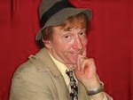Larry Bower returns as bumbling detective John Fieldstone in the New Year's Eve comedy-mystery dinner theater at the Cottage Event Center, in Roanoke.