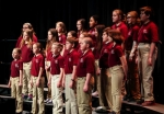 The Children's Choir of Huntington County gives a recent performance. Auditions are open today, Monday, Aug. 22, to children interested in joining the choir.