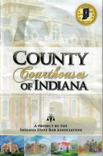 """Shown is the cover of the initial booklet """"County Courthouses of Indiana,"""" which is being updated to include original artwork of all 92 Indiana county courthouses. The Huntington County Historical Society is sponsoring an art contest to select an original artwork of the Huntington County Courthouse to be printed in the booklet."""