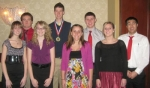 The Huntington North DECA group recently participated in the state competition in Indianapolis.