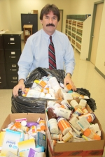 Huntington County Coroner Leon Hurlburt reminds the citizens of Huntington County that their unneeded prescription medications can be properly disposed off at two locations withing the county -- the Huntington County Jail or the county health department.