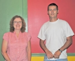 Pastors Dianna Teusch, left, and Jimi Staton are heading up Encounter 2010 – a worship event with the aim to provide hope to Huntington residents on July 8, 9 and 10, beginning at 7 p.m. at Kriegbaum Field.
