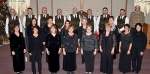 "Members of six churches are represented in the choir that will perform the Christmas musical ""Tree of Light"" on Thursday, Friday and Sunday, Dec. 8, 9 and 11 at Evangelical United Methodist Church."