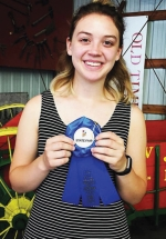 Huntington North High School sophomore Gracie Grossman won first place at the Indiana State Fair Fiddle Contest on Saturday, Aug. 10.