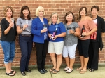 Sponsors of the Flavors of Fall Wine and Craft Beer tasting on Sept. 30 in Warren are (from left) Gina Canady, of Bolinger's Warren Service & Supply; Sandy Hacker, of Bippus State Bank; Joanie Paxson, of Citizens Telephone; Becky Souder, of East of Chicago Pizza; Karen Campbell and Lisa Campbell, of Campbell & Dye Insurance; and Nicole Johnson, of Edward Jones. Sponsors not pictured are Gebhart's Floral Barn, Heritage Pointe, iAB financial bank, JH Pottery Works and Kim's Katered Affair. Photo provided.