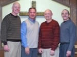 God's Call, a local gospel quartet, will be featured during a special Independence Day service on Sunday, July 4, at Faith Chapel United Methodist Church. Pictured (from left) are members Kevin Teusch, Bob Johnston, Mike Tribolet and Pat Thompson.