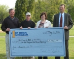 First Federal Savings Bank of Huntington will sponsor a hole-in-one contest during the Kids Kampus Golf Outing to be held May 26 at LaFontaine Golf Club.
