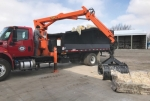 The Huntington Street Department will send out a grappler truck like this one to pick up old furniture and other large items through its orange sticker program. It's just one of the ways city residents can continue to dispose of unwanted items after the Huntington City Landfill closes on March 29.