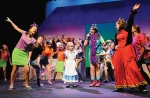 """Participants in Huntington University's  2013 Summer Theatre Youth Camp appear on stage in their production of Disney's """"Alice in Wonderland Jr."""" This summer's campers will take on """"Step into Disney,"""" which features a collection of Disney favorites."""