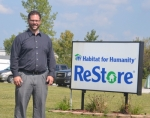 Justin Berger, CEO of Habitat for Humanity of Greater Fort Wayne, says that the merger of the Huntington and Wells county Habitat affiliates with the Fort Wayne group offers a more efficient way to serve more families in both of the smaller communities.