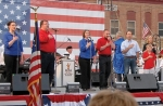 Members of Heartland Sings perform the national anthem during last year's Freedom on Main in downtown Roanoke. This year's free patriotic event is set for June 30.