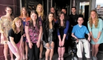 Thirteen local students received scholarships from Huntington County HELP.