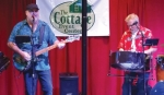 Rod Bowers (left) and Doug Laughlin perform Jimmy Buffet and the sounds of the Caribbean as the duo Island Vibe. They will perform at The Cottage Event Center on May 10.