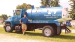 Jeremy Dyke has opened J&S Septic Service, in Huntington. The business pumps septic tanks, inspects tanks and locates tank lids.