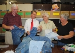 Love INC and Huntington Chiropratic have teamed up to collect jeans for the more than 400 children Love expects to provide clothes for this fall prior to the start of school.
