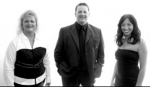 The Little Black Dress (LBD) Trio will perform Saturday evening, June 12, during this year's Relay for Life at Kriegbaum Field. Pictured (from left) are members Barb Jones, Doug Hartle and Lisa Mertz.
