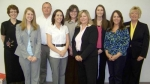 Graduates of the 2010 Huntington County Leadership Academy are (front, from left) Amber Hirschy, Jana Nothhard, Julie Lentes and Brenda Ralston; and (back, from left) Natalie Brautigam, Scott Stevens, Kasey Findley, Lindsi Walker and Terry Pierce.