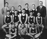Former basketball coach Dean Stephan (back row, left) is the guest speaker at the Sept. 21 meeting of the Huntington County Historical Society. He's pictured here with the Lincoln Elementary School team of 1950.