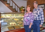 Kim (left) and Jim Hethcote have opened Main Street Bakery, in Mt. Etna.