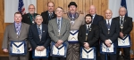 Officers of the Mt. Etna Masonic Lodge for 2017 are (front row, from left) Nick Williams, junior steward; Jerry Piqune, tyler; Chuck Clampitt, senior warden; Jathan Jones, junior warden and Joe Gooding, senior steward; and (back row, from left) Steve Halchuck, senior steward; Brent Campbell, treasurer; Steve Williams, worshipful master; Jay Allen, chaplain; and Junior Wehr, secretary. Not pictured is Dave Williams, junior deacon.