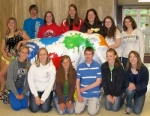 A group of Huntington North students recently competed in the Indiana Council of Teachers of Mathematics contest, in Fort Wayne.