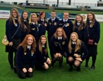 Members of the Huntington North High School FFA selected to attend the National FFA Convention stand in Louisville Slugger Stadium in Louisville, KY. Pictured are (front row from left) Cora Hill, Bailey Irick, Madison Wohlford, Courtney Coffman and (back row from left) Autumn Taylor, Leigh Ann Trickle, Emma Landrum, Sarah Hunnicutt, Brandon Briggs, Kaitlyn Drayer, Taylor Scher and Brianna Mason.