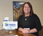 Kasey Kohlmorgen is the new executive director of Huntington County Habitat for Humanity.