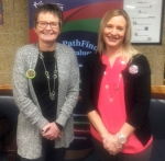 Ann McPherren (left) and Angela Hormann joined the Pathfinder Services Board of Directors in January.