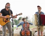 O' Sister, Brother is featured in the first Music in the City concert of 2017 on May 12. The folksy grassroots group from Huntington includes (from left) Kyle Jackson, Bennett Spickelmier and Tyler Gault.