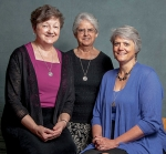 The new leadership team of Our Lady of Victory Missionary Sisters will be installed Aug. 6. The team includes (from left) Sister Mary Jo Nelson, president; Sister Lucille Martinez, vice president; and Sister Ginger Downey, general secretary.