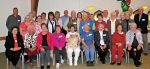 Pictured are those reaching milestones who attended the annual Parkview Huntington Hospital volunteer appreciation luncheon.