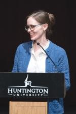 Associate Professor of Psychology Dr. Rebekah Benjamin was selected as favorite faculty member at Huntington University by members of the graduating class of 2019.