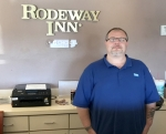 James Heister is the new general manager of the Rodeway Inn, in Huntington.