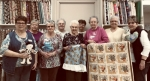 The Heritage Pointe of Warren sewing volunteers are (front from left) Diane Winkler, Carol Tribolet, Ellen Embry and Ruth Herring; and (back row from left) Janice Jordan-Ryan, Linda Kreiger, Marge Reinke, Marge Blair and Joyce Buzzard. Not pictured are Coleen and Bob Midwood, Roselyn Poulson, Linda Colbart, Mona Fletcher, Mary Zoda, Mary Daugherty, Phylis Hubartt and Colleen McMillan.