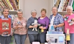 The ladies who make up the Heritage Pointe of Warren's sewing room volunteers are (from left) Joyce Buzzard, CarolTribolet, Mona Fletcher, Janice Ryan, Ruth Herring and Marge Blaire.Not pictured are Diane Winkler, Linda Kreiger and Doris Paul.