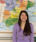 Reagan Wohlford, a student at Huntington North High School, has been selected to live in Spain this summer through the Indiana University Honors Program in Foreign Language.