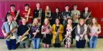 Students from Huntington North High School's band competed at the state level, bringing home a total of 28 medals. Pictured are (front row from left) Brendan Hoover, Will Hutchinson, Hannah Lehman, Callie Stetzel, Clair Redner, Bailey Godfrey, Myla Tackett and Merisa Walter; and (back row from left) Andrew Harris, Luke Bangma, Alex Bishop, Grace Driscoll, Payton Knerr, Jonathan York, Max Bruner and Layla Martz.