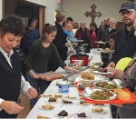 A crowd attends a previous Autumn Steak Supper held at St. Peter's First Community Church. This year's supper will be Saturday, Nov. 9, from 4:30 p.m. to 7 p.m. at the church.