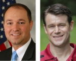 Marlin Stutzman (left) and Todd Young.