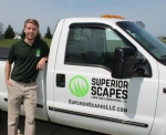 Mike Winans is the owner of Superior Scapes Lawn and Landscaping LLC, in Roanoke. The business, which officially began in January, offers an array of services from weekly lawn maintenance and weed control to residential snow removal.