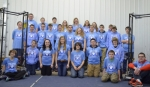 "The Huntington County 4-H Robotics Team will be the featured entertainment at the Huntington County Habitat for Humanity Summer Fun Open House and Picnic on July 18. Team members include (front row, from left) Johanna Ashley, Dane Brown, Brooke Elston, Abigail Pease, Garrett Fowler, Jake Garlits, Garrett Hubartt and (seated in front) Peyton Denney and Nick Melchi; (second row, from left) Tyler Jones, Josef Thomson, Erick ""Ricky"" Sands, Tyler McCaulley, Matt Hunt, Grant Pape, Claudia Sewell, Brandon Spencer, Luke Juillerat, Noah Nguyen and Jacob Burns; and (back row, from left) Connor Nash, Andrew Lund, Connor Bradt, Sharon Sitton, Tosha Davis, Angel Medsker, MaKayla Grizzle and Charles Grey."