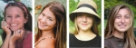 Tri Kappa Sorority recently announced it gave four general scholarships. Scholarship winners are (from left) Julia Crist, Macy Wohlford, Elizabeth Moore and Alena Miller.