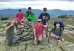 BSA Troop 130 scouts (front row from left) Logan Murray, Jared Cartwright and Bailey Bruner and (back row from left) Jacob Worsham, Jacob Bruce and Breckin Hammel pause for a picture on Mt. Lafayette in New Hampshire. Troop 130, which is based in Huntington, is inviting boys ages 11 to 17 to an open house where they can learn more about Boy Scouts on Monday, Oct. 28, at Life Church, in Huntington, from 6:30 p.m. to 8 p.m.
