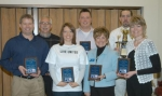 Several individuals and businesses were singled out for awards during the Huntington County United Way's Thank You Luncheon on Wednesday, March 3.