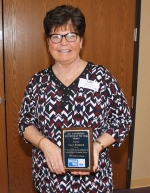 Former Lincoln Elementary School teacher Sally Morrison was honored with the 2018 Ray Vanderspool Volunteer of the Year Award at the United Way thank you luncheon on Wednesday, March 13.